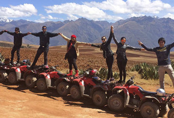 QUAD BIKE ATV MARAS MORAY SALINERAS AND CHINCHERO ½ HALF DAY