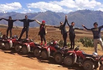 QUAD BIKE ATV MARAS MORAY SALINERAS AND CHINCHERO ½ HALF DAY